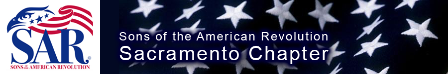 Sons of the American Revolution - Sacramento Chapter